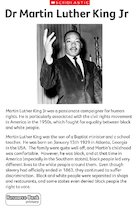 Dr Martin Luther King Jr - profile