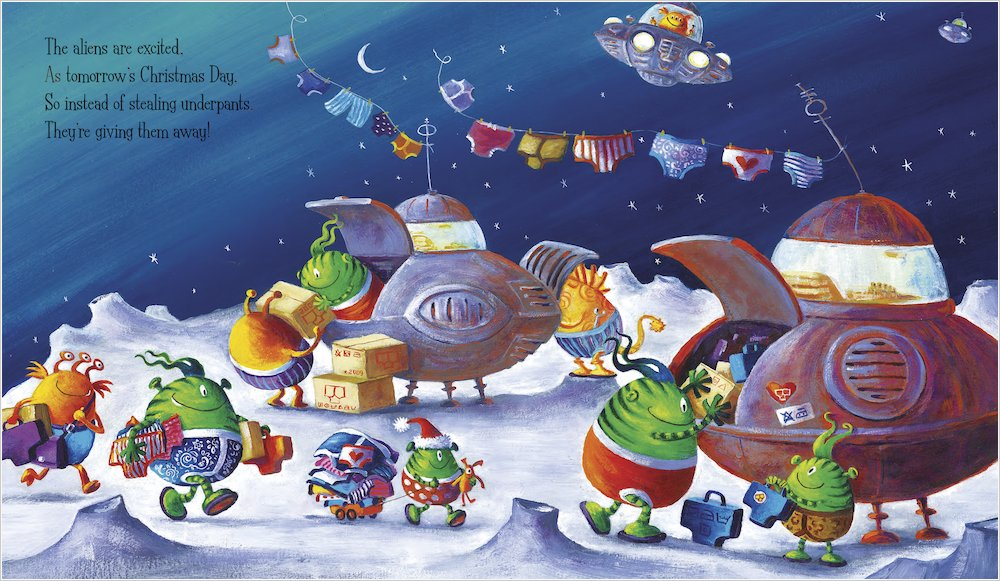 Aliens Love Panta Claus - Scholastic Kids' Club