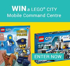 WIN a LEGO® CITY Mobile Command Centre