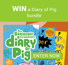 WIN a Diary of Pig bundle