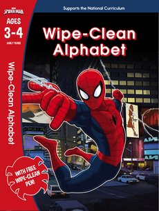 Spider-Man: Wipe-Clean Alphabet