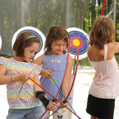 Girls archery