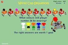 World Cup Sequences game
