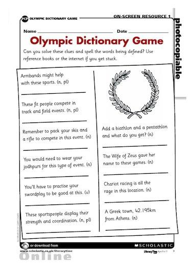 how to use a dictionary ks2