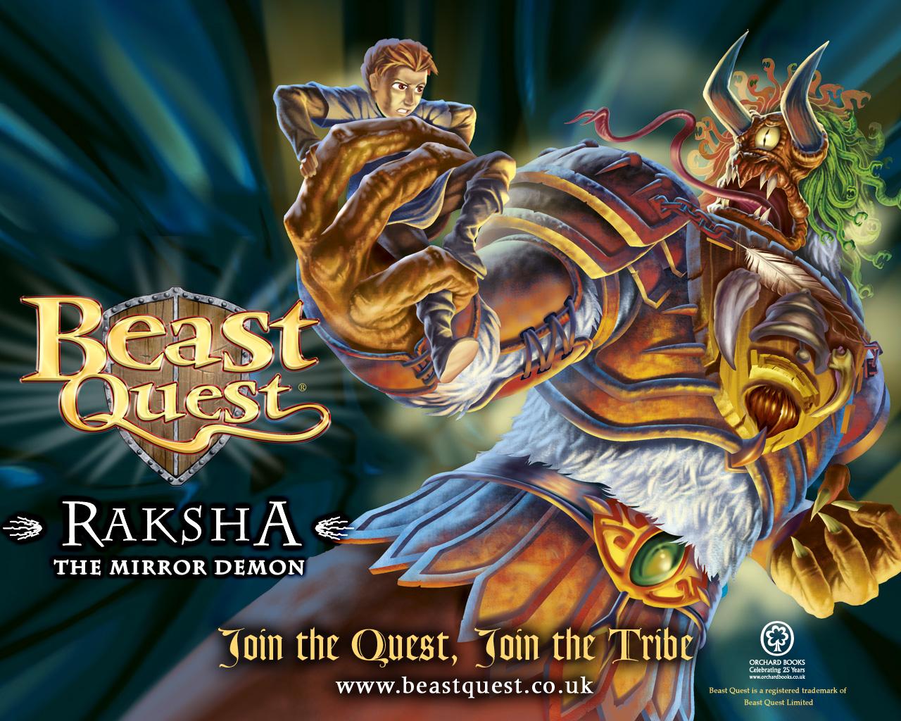 Beast quest raksha wallpaper scholastic kids club