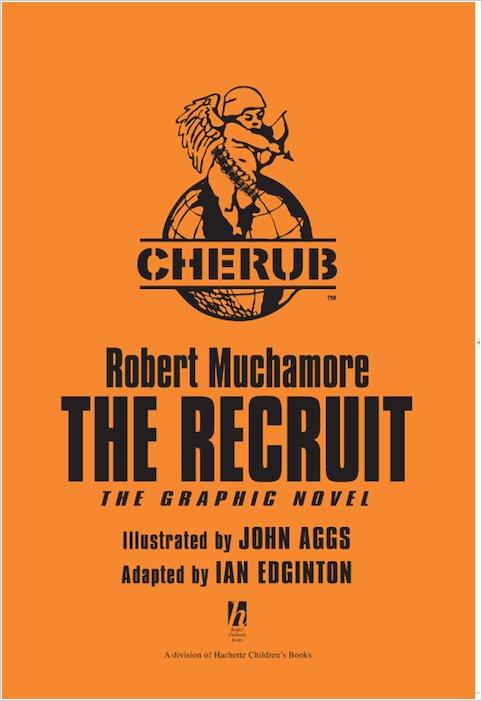 CHERUB: The Recruit – The Graphic Novel - Scholastic Shop