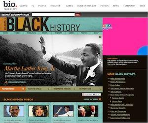 Bio.com website screen grab