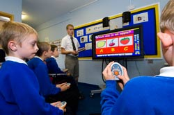 Children using a Learning Response System