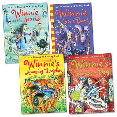 Winnie the Witch Pack - Scholastic Kids' Club