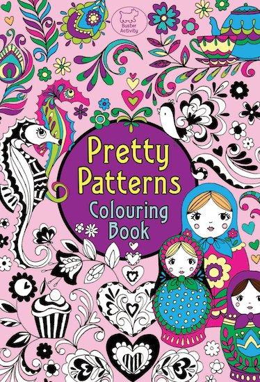Pretty Patterns Colouring Book : Pretty patterns colouring book scholastic kids club