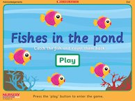Fishes in the pond game