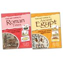 Food and Cooking in Ancient Egypt and Roman Times Pair