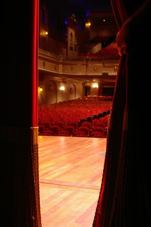 Theatre stage © weatherbox/www.sxc.hu
