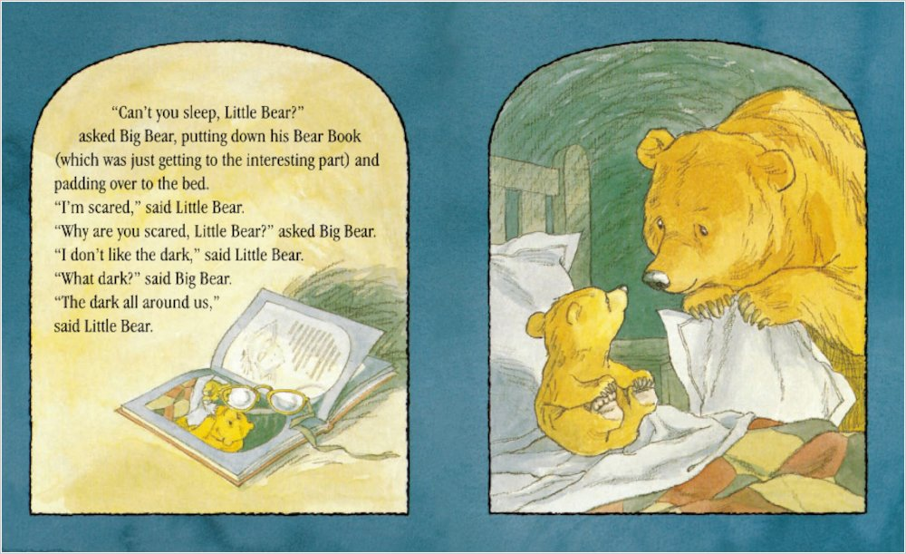 Learning activities for 'Can't You Sleep Little Bear?' by Martin Waddell