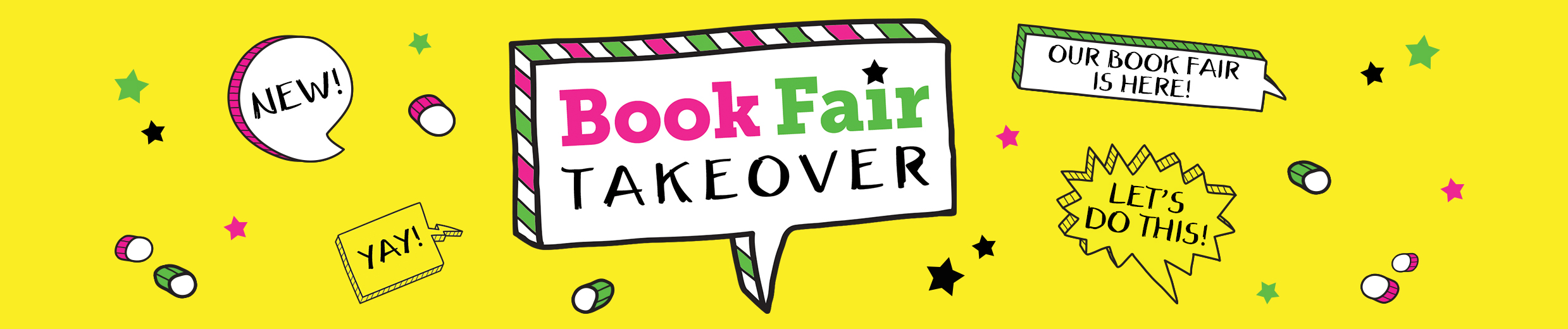 Welcome to Book Fair Takeover
