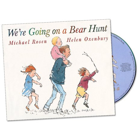 we re going on a bear hunt book and cd scholastic kids 39 club. Black Bedroom Furniture Sets. Home Design Ideas