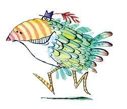 KOrky bird