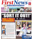 First News front page