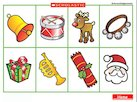 Christmas objects – sounds poster