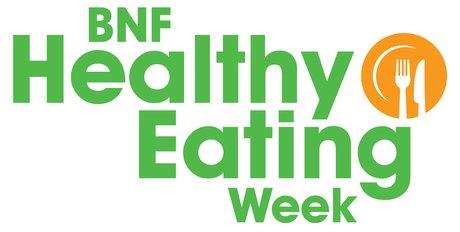 BNF healthy eating week logo