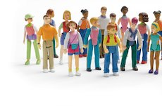 Toy people