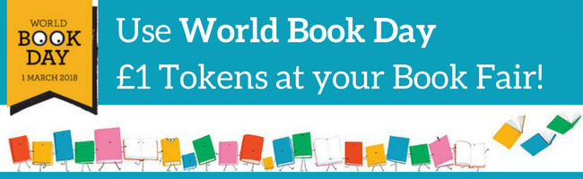 Use World Book Day £1 Tokens at your Book Fair!