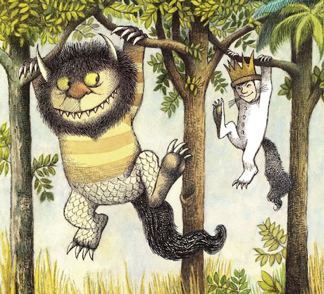'Where the wild things are' spread