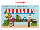Digraphs: At the market interactive scene