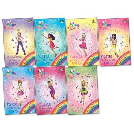 rainbow magic sweet fairies pack x 7 scholastic shop. Black Bedroom Furniture Sets. Home Design Ideas