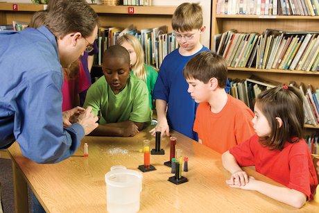 Children science lesson