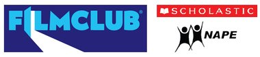 Filmclub & Scholastic logos