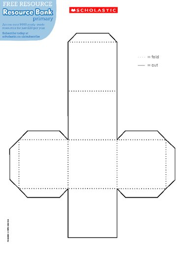 Cube net – FREE Primary KS1 & KS2 teaching resource ...