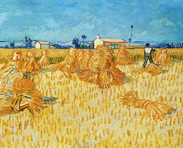 Vincent van Gogh - The Harvest