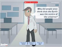 Interactive science: Why? The Earth and beyond