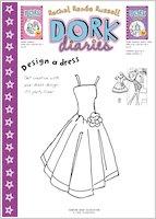 Dork Diaries Design a Dress