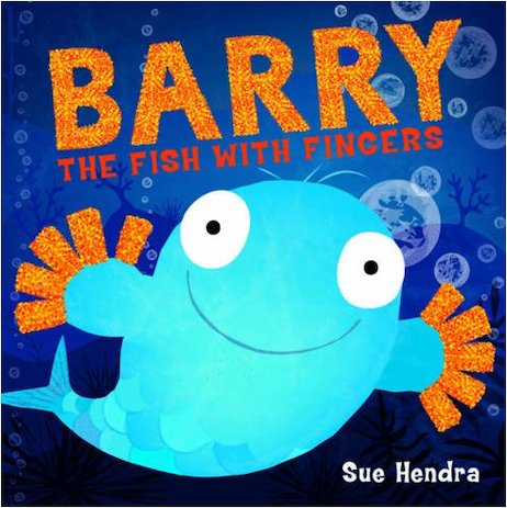 Barry the fish with fingers scholastic kids 39 club for Fish children s book