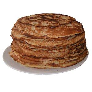 Plate of pancakes © ikbenivo/www.sxc.hu