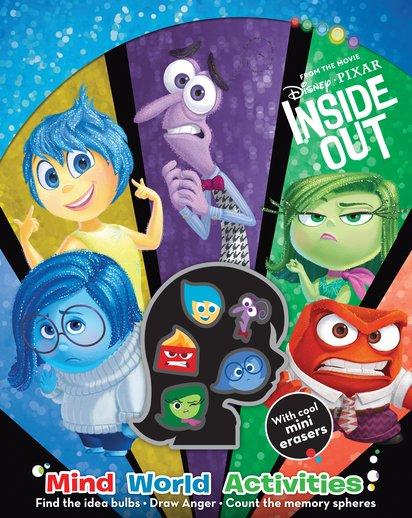 disney pixar inside out mind world activities scholastic shop. Black Bedroom Furniture Sets. Home Design Ideas