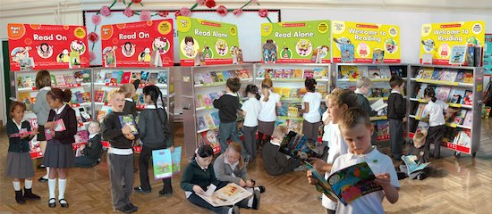 Spring 2011 - Children at Book Fair