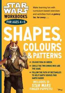 Star Wars Workbooks: Shapes, Colours and Patterns (Ages 4-5)