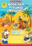 Book Fair Pyramid Poster - Come to our Book Fair!