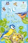50 bird spotter's cards