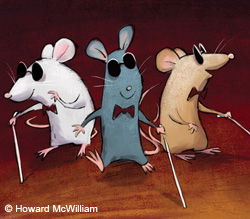 Three Blind Mice illustration