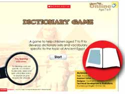 Dictionary game teachers notes