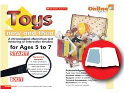 Toys Now And Then Primary Ks1 Teaching Resource Scholastic